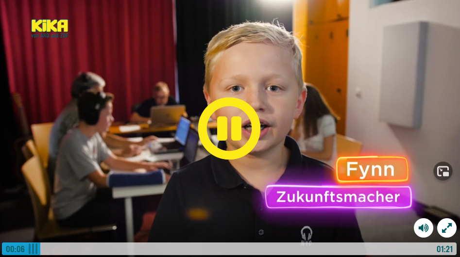 """Die Sendung """"Erde an Zukunft"""" mit einem Beitrag über Beats for Kids (Sendung vom 22.22.2020/20:00 Uhr)"""